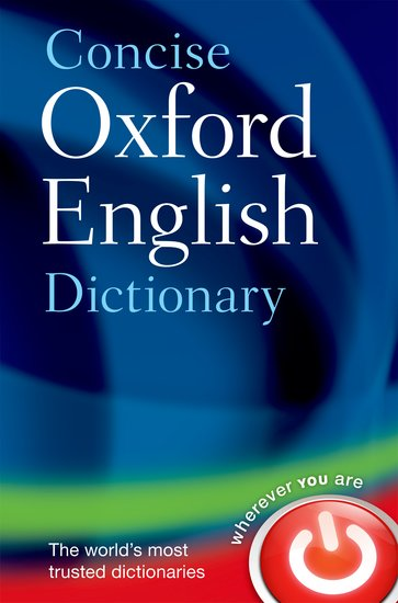 Concise Oxford English Dictionary 9780199601080