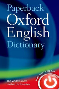 Paperback Oxford English Dictionary 9780199640942