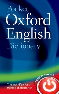 Pocket Oxford English Dictionary - 9780199666157