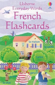 Usborne Everyday Words French Flashcards - 9780746066546