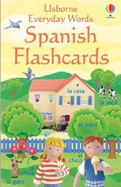 Usborne Everyday Words Spanish Flashcards 9780746066553