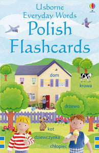 Usborne Everyday Words Polish Flashcards 9781409505822
