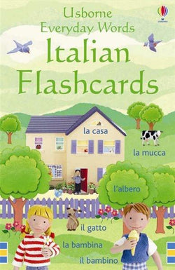Usborne Everyday Words Italian Flashcards 9781409505839