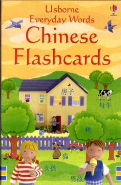 Usborne Everyday Words Chinese (Mandarin) Flashcards 9781409505853