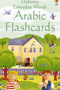 Usborne Everyday Words Arabic Flashcards 9781409505860