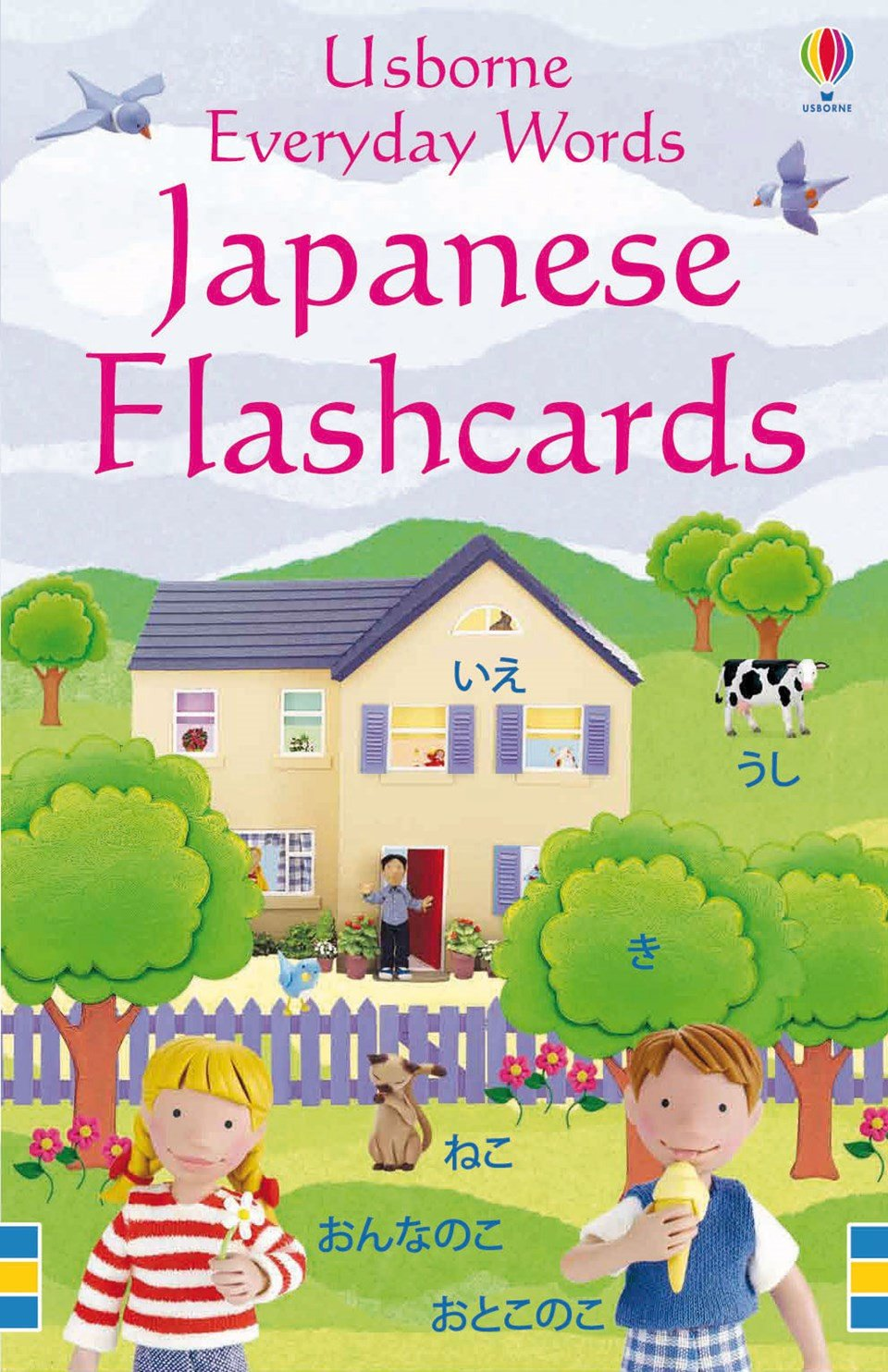 Usborne Everyday Words Japanese Flashcards 9781409505891