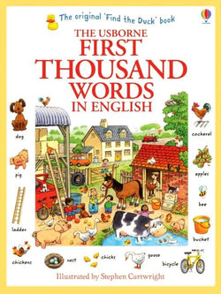 Usborne First Thousand Words (in English) - 9781409562894