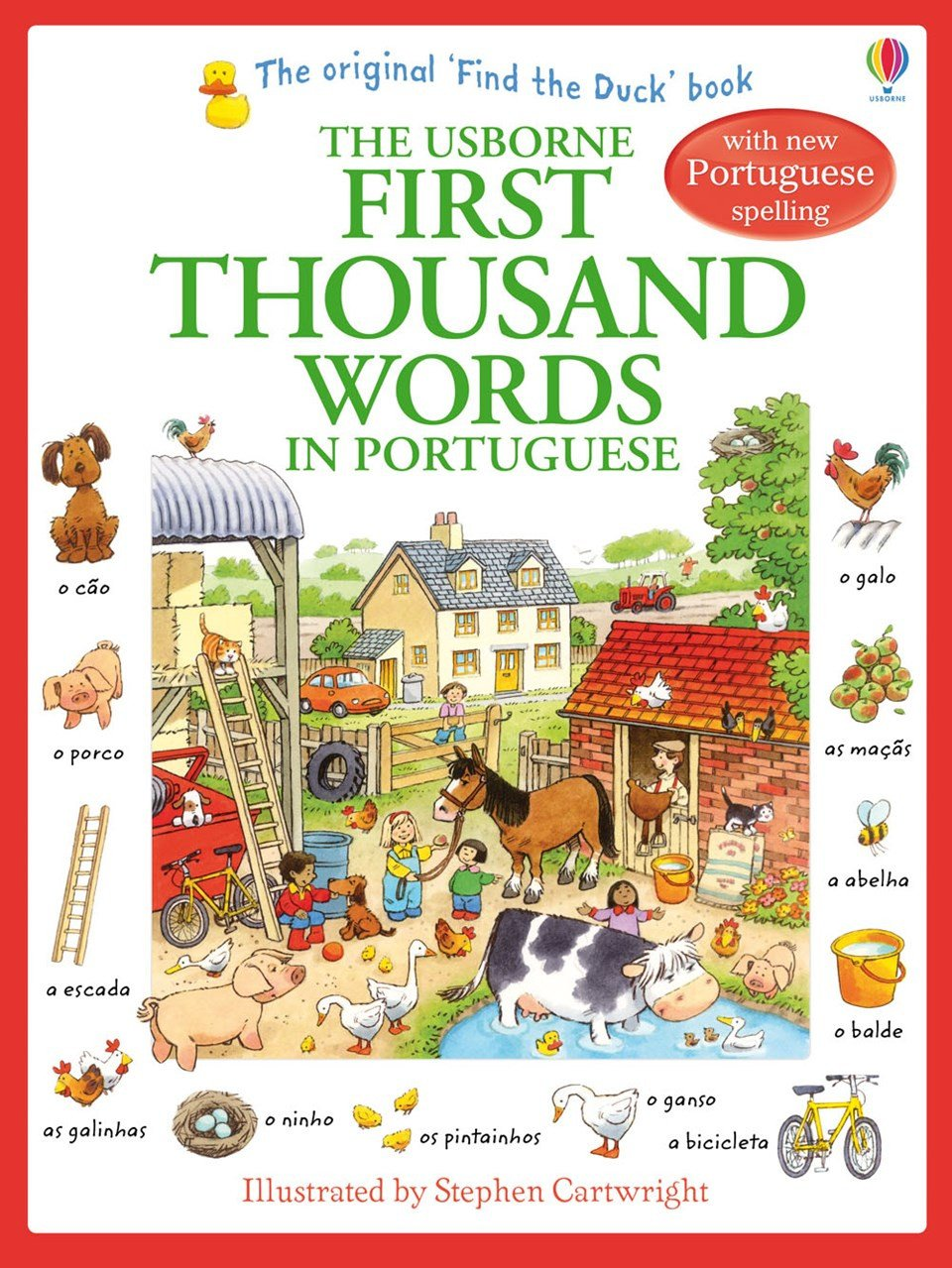 Usborne First Thousand Words in Portuguese 9781409566120