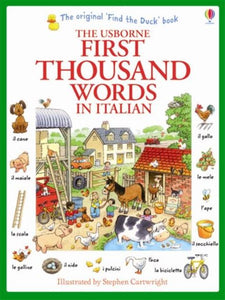 Usborne First Thousand Words in Italian 9781409566144