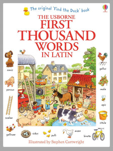 Usborne First Thousand Words in Latin 9781409566151