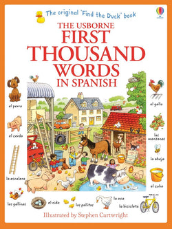 Usborne First Thousand Words in Spanish 9781409583042