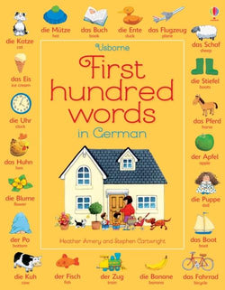 Usborne First Hundred Words in German 9781409596929