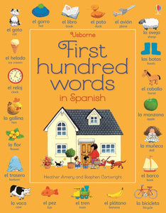 Usborne First Hundred Words in Spanish 9781409596936