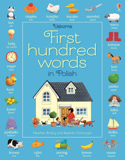 Usborne First Hundred Words in Polish 9781409596943