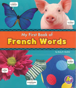 My First Book of French Words 9781474706926