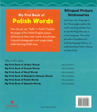 My First Book of Polish Words 9781474706957 - back cover