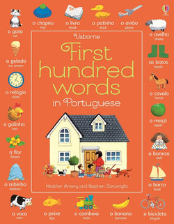 Usborne First Hundred Words in Portuguese 9781474903684
