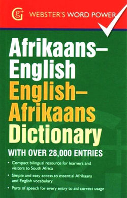 Pocket Afrikaans-English & English-Afrikaans Dictionary 9781842058008