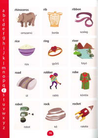 My First Picture Dictionary: English-Hungarian