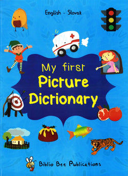 My First Picture Dictionary: English-Slovak 9781908357304 - front cover