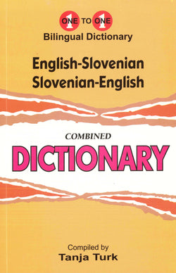 Exam Suitable : English-Slovenian & Slovenian-English One-to-One Dictionary 9781908357700