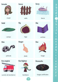 My First Picture Dictionary: English-Spanish 9781908357731 - sample page