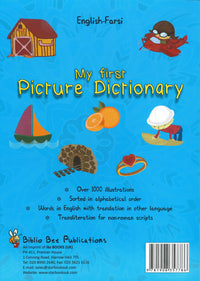 My First Picture Dictionary: English-Farsi 9781908357786 - back cover