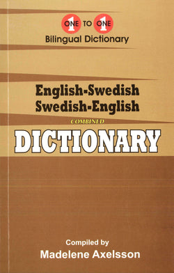 Exam Suitable : English-Swedish & Swedish-English One-to-One Dictionary