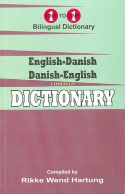 Exam Suitable : English-Danish & Danish-English One-to-One Dictionary - 9781912826032