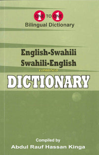 English-Swahili & Swahili-English One-to-One Dictionary (exam-suitable) - 9781912826049