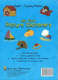 My First Picture Dictionary: English-Tagalog (Pilipino) (Primary school age) - 9781912826070 - Back cover