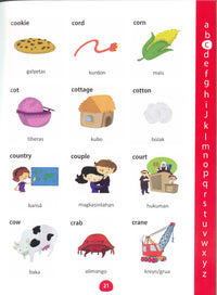 My First Picture Dictionary: English-Tagalog (Pilipino) (Primary school age) - 9781912826070 - Sample page 2