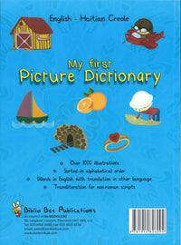 My First Picture Dictionary: English-Haitian Creole (Primary school age) - 9781912826094 - Back cover