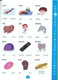 My First Picture Dictionary: English-Haitian Creole (Primary school age) - 9781912826094 - Sample page 2
