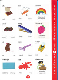 My First Picture Dictionary: English-Haitian Creole (Primary school age) - 9781912826094 - sample page 1