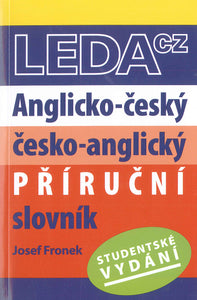 English-Czech & Czech-English Student Dictionary - 9788073353322 - front cover