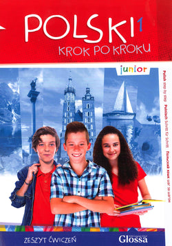 Junior Polski 1 - Krok po Kroku (Polish Step by Step). Student's workbook with audio CD - 9788394117825