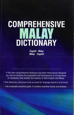 Comprehensive Malay Dictionary: English-Malay & Malay-English  9789679787504