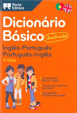 Illustrated English-Portuguese & Portuguese-English School Dictionary for Children 9789720016423