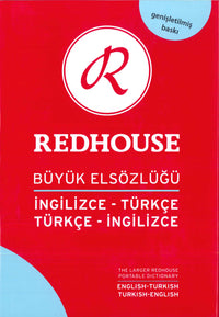 The Larger Redhouse Portable English-Turkish & Turkish-English Dictionary