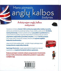 My First English-Lithuanian Picture Dictionary 9789955237686 - back cover
