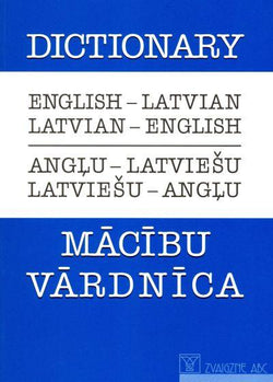 English-Latvian & Latvian-English Dictionary - 9789984179629