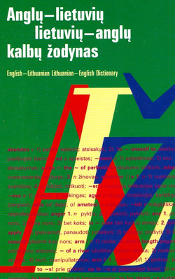 Large English-Lithuanian & Lithuanian-English Dictionary 9789986465539