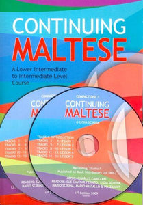 Continuing Maltese Course with 2 CDs - 9789995720087