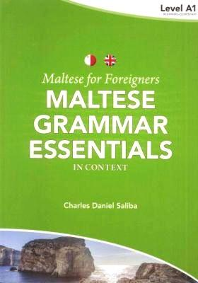 Maltese for Foreigners Course - Learn Maltese Grammar - Essentials 1 - 9789995782603 - front cover