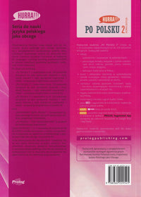 2020 Hurra!!! Po Polsku 2 student TEXTBOOK + audio CD (Podrecznik studenta)