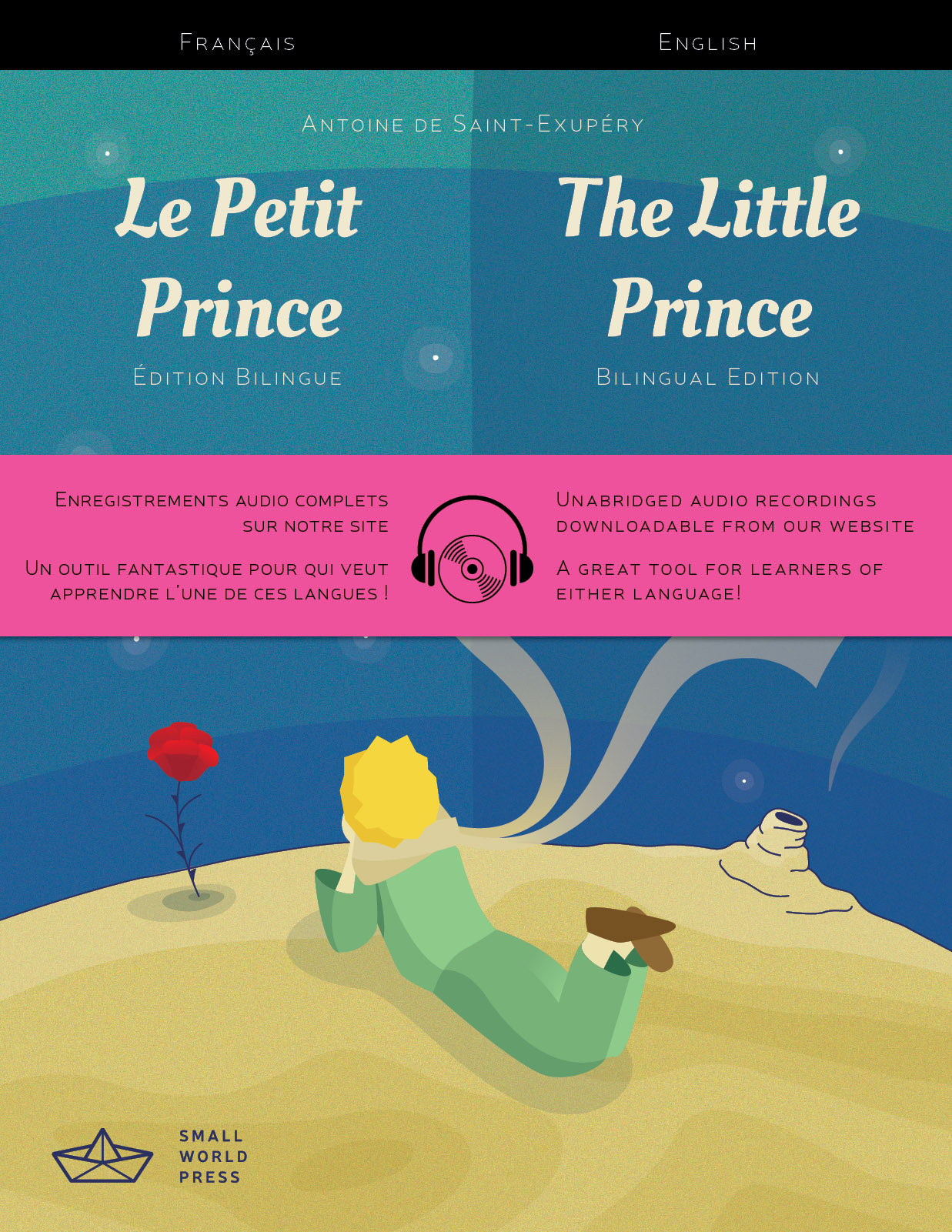 The Little Prince French English Bilingual Reader Audio