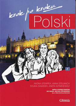 Polski Krok po Kroku 1 Student's Textbook with audio download - 2020 edition - 9788393073108 - front cover