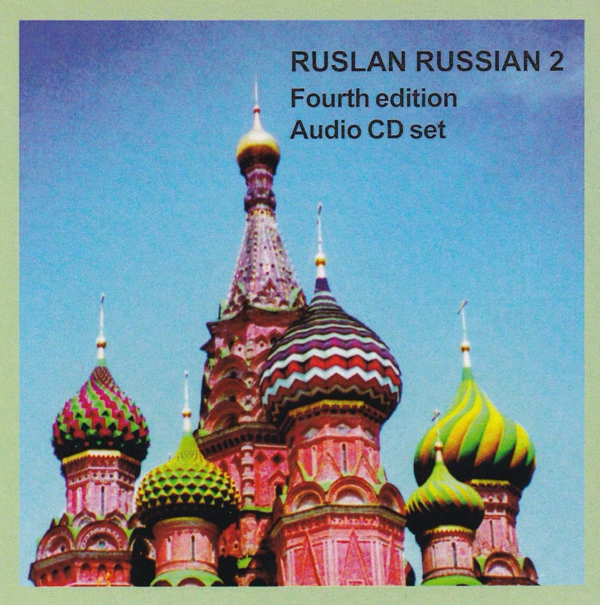 Ruslan Russian 2:  2 audio CDs only