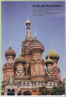 Ruslan Russian 2:  Course book with free MP3 audio download - 9781912397150 - front cover